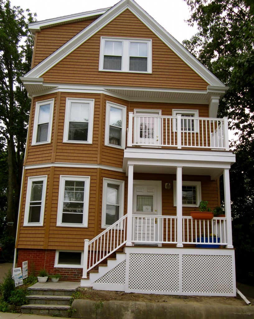 Certainteed windows recent siding remodel using for Certainteed siding
