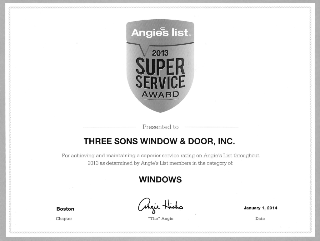 angies list 2013 - windows