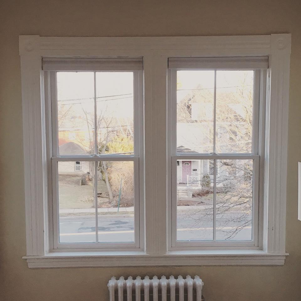 Custom Jeld Wen Double Hung Window Replacement In Belmont Ma