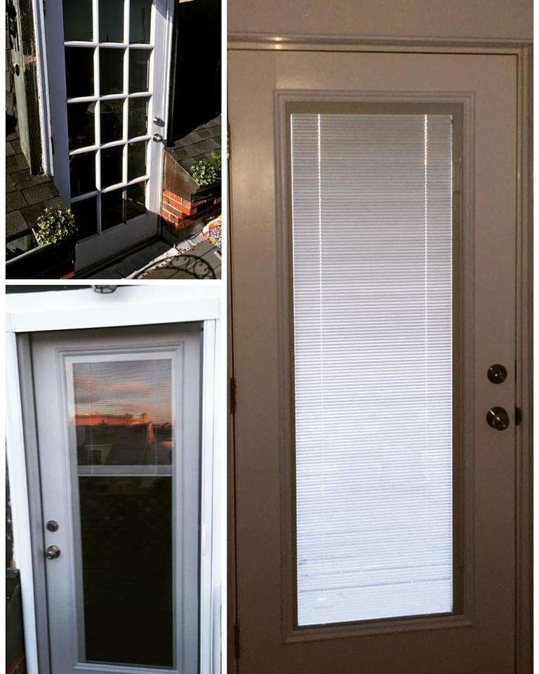 therma-tru door before and after