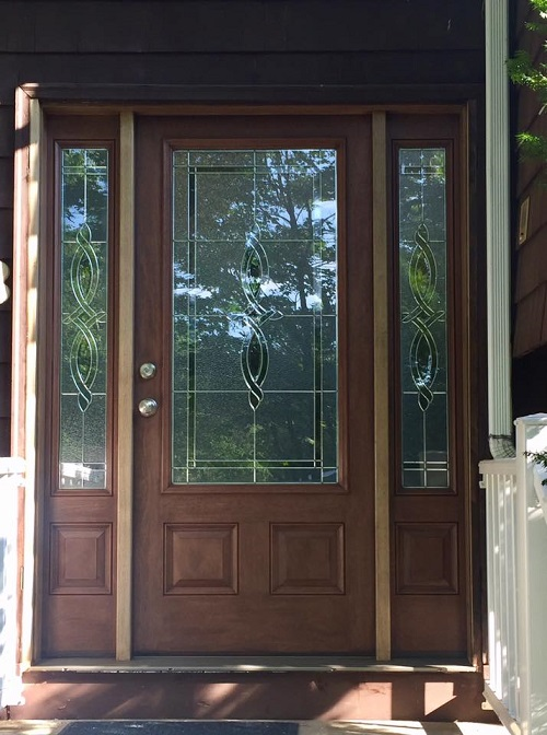 The front door is an opportunity for a home to make a statement to the outside world and everybody wants their space to make a great impression. & Harvey Building Products Door Installation in Acton MA | Three Sons ...